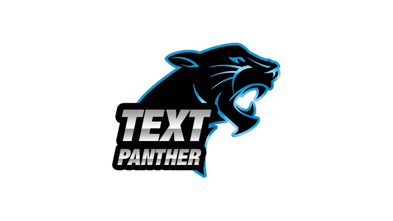 Text Panther logo | Swan Software Solutions